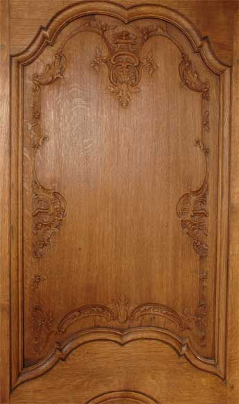 Oak paneled room from the beginning of the 20th century-3