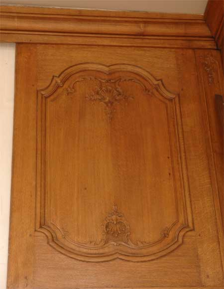 Oak Paneled Room: Oak Paneled Room From The Beginning Of The 20th Century