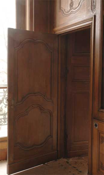 Oak paneled room from the beginning of the 20th century-7
