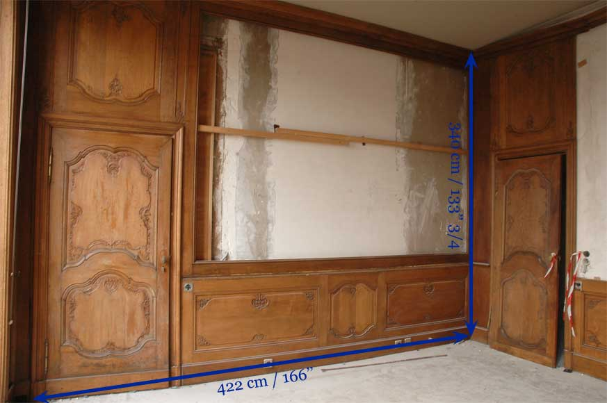 Oak paneled room from the beginning of the 20th century-9