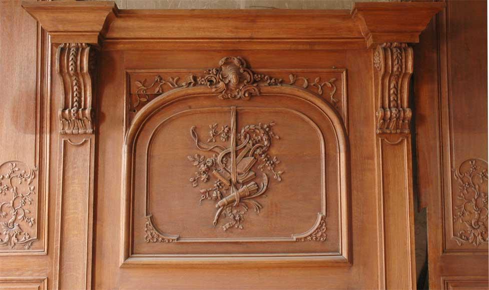 Louis Xv Style Oak Panelled Room Paneled Rooms