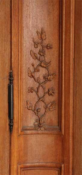 Oak Paneled Room: Louis XV Style Oak Panelled Room