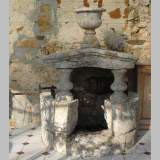 Antique stone well from the 18th century