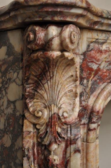 Veru beautiful and rare Louis XV style fireplace made out ...