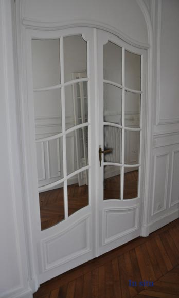 One interior double doors with mirrors-7