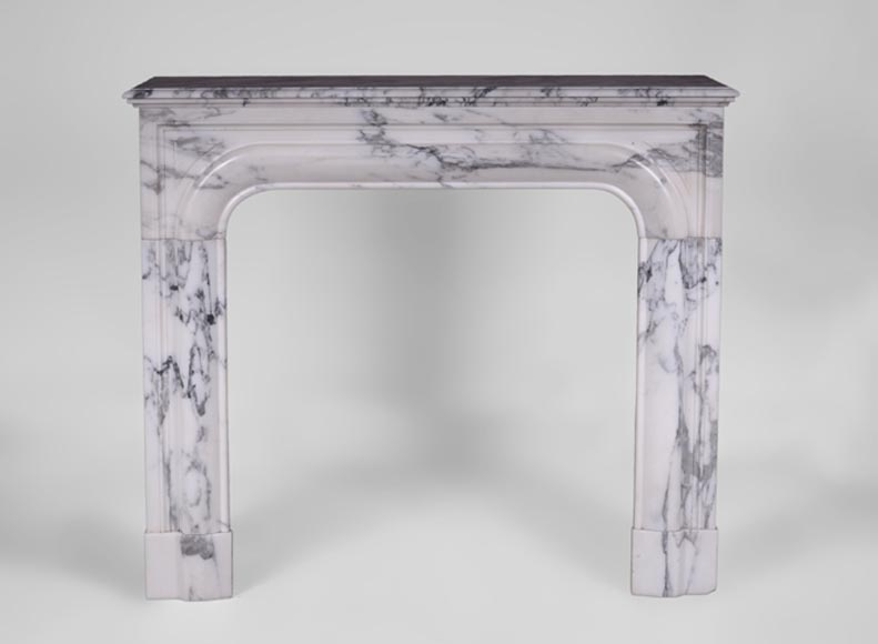 Antique Louis XIV style fireplace in Arabescato marble - Reference 3224