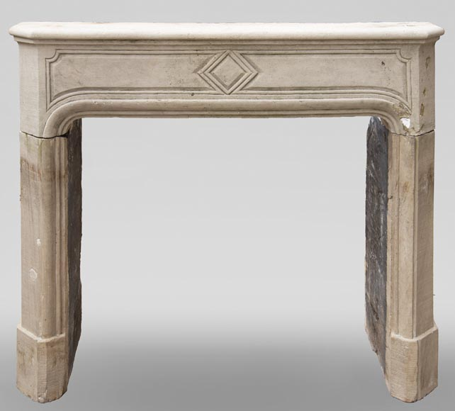 19th century Regency style fireplace made out of stone-0