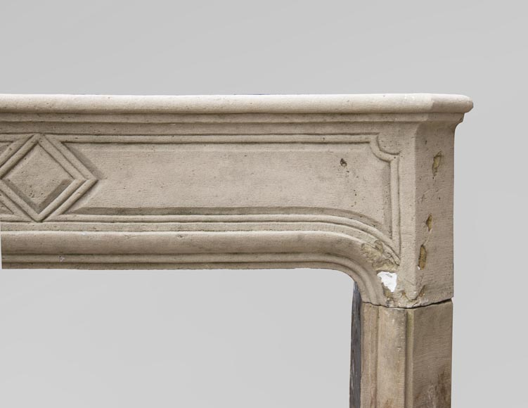 19th century Regency style fireplace made out of stone-6