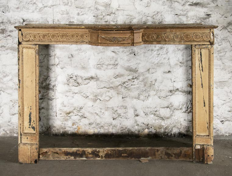 Set of Louis XVI period woodwork elements-1
