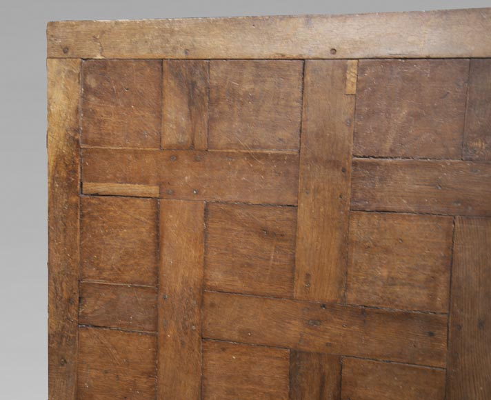Lot of 65 m2 of Chantilly oak parquet flooring from the 18th century-2