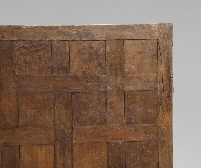 Lot of 65 m2 of Chantilly oak parquet flooring from the 18th century-6