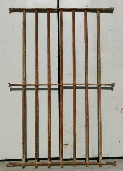 Protective grille from castle in Laon - Reference 9006