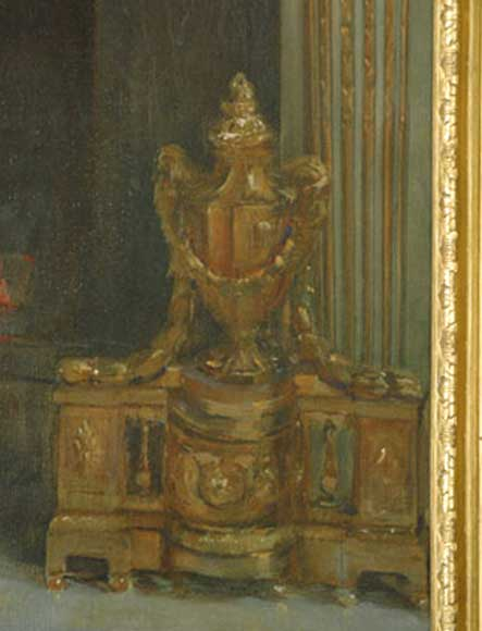 Standing portrait of the French President Félix Faure-1