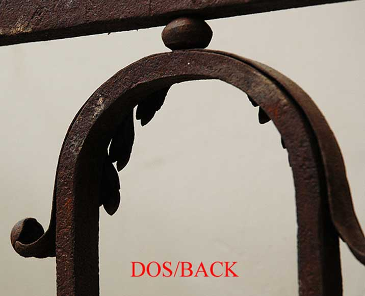 Wrought iron radiator screen-6