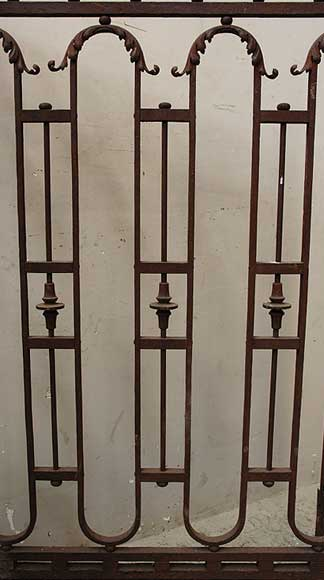 Wrought iron radiator screen-7