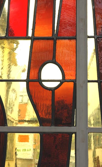 1950's stained glass window-3