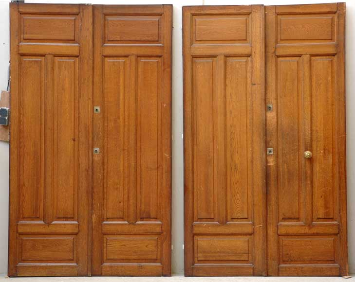 Pair of 1930's doors-0