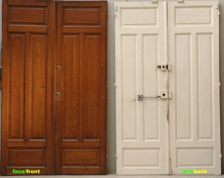 Pair of 1930's doors-6
