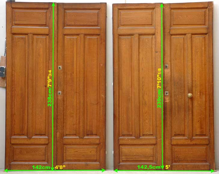 Pair of 1930's doors-8