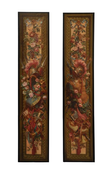 Cartoon for two entre-fenetre tapestry panels - Reference 9278