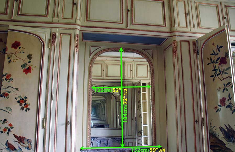 Paneled room with Coromandel lacquer panels-22