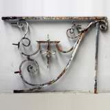 Wrought iron bracket from Large Louis XIV period