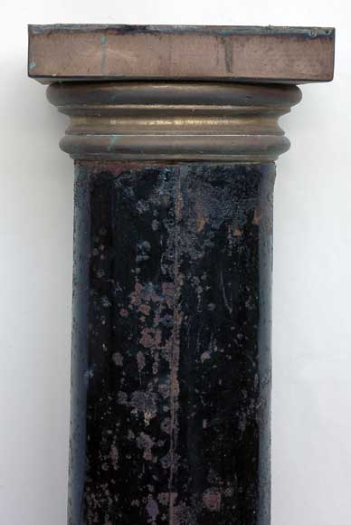 Metal pipe from the early 19th century-3