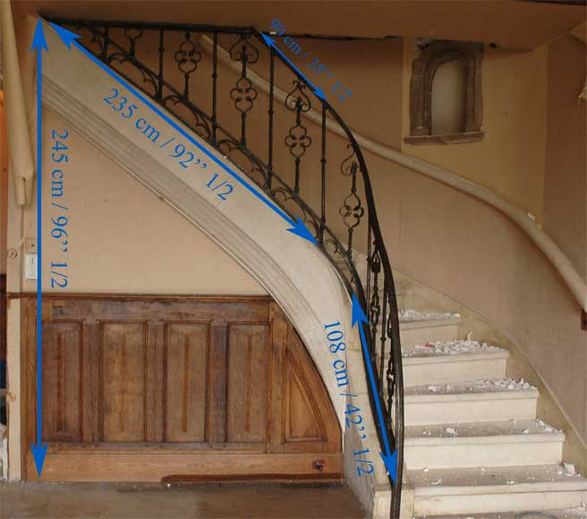 Iron Gothic style banister - Stairs and banisters