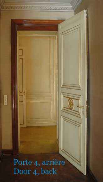 Four leather and brass doors-7