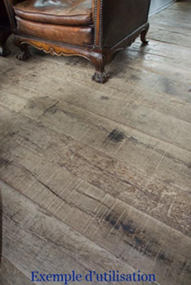 Antique wagon flooring with a surface area of 300 m2-13