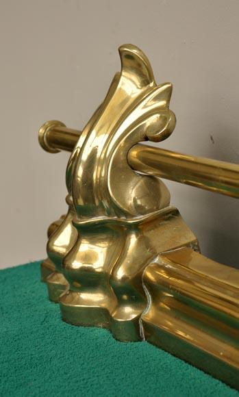 Gilded Bronze Antique Firedog Firedogs Andirons