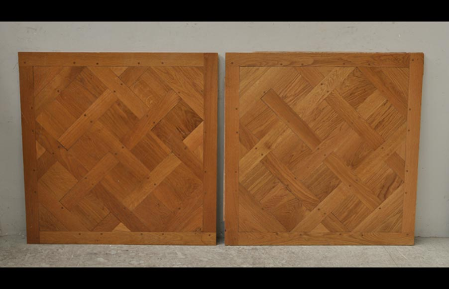 Versailles parquet floor fully pegged - Reference 9931
