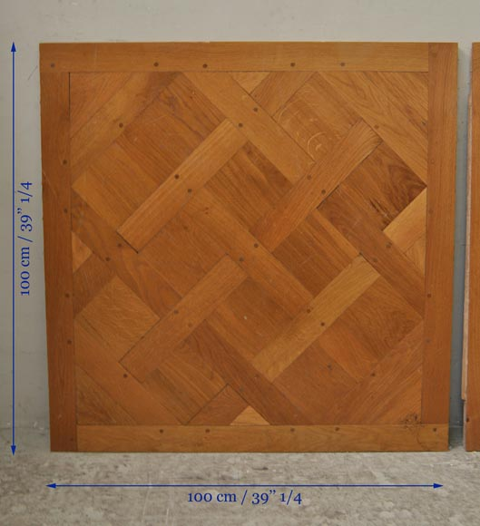 Versailles parquet floor fully pegged-7